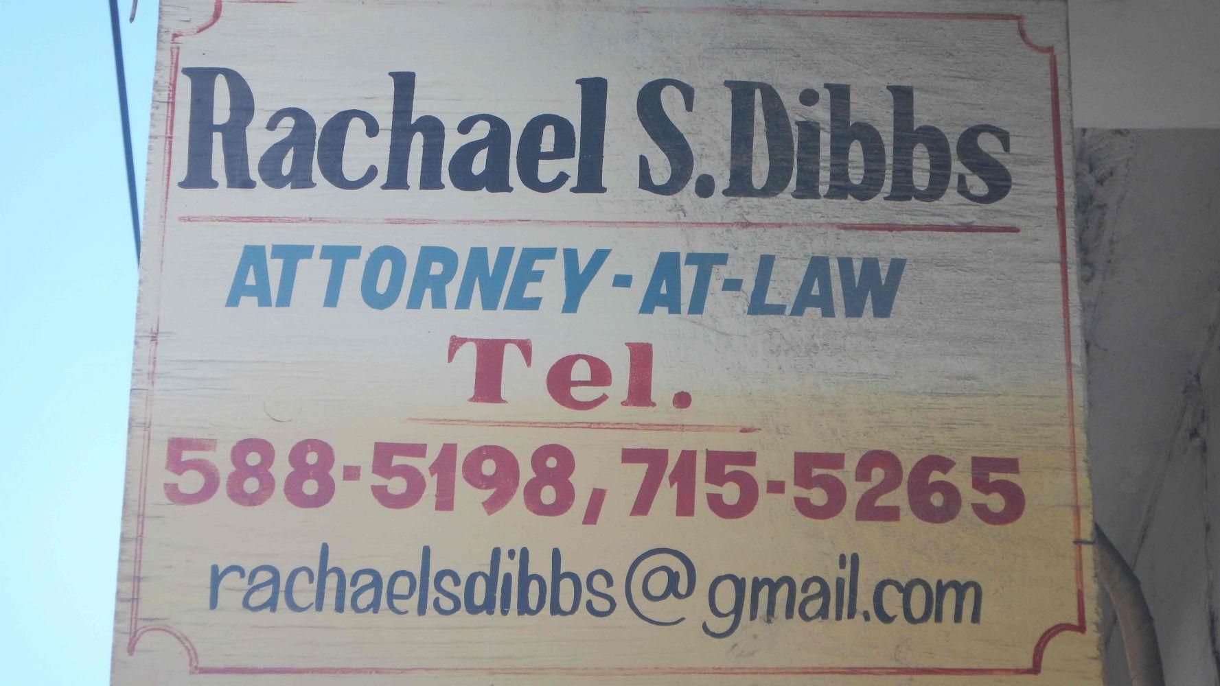 Rachel Dibbs Attorney at Law Port Antonio Portland Jamaica