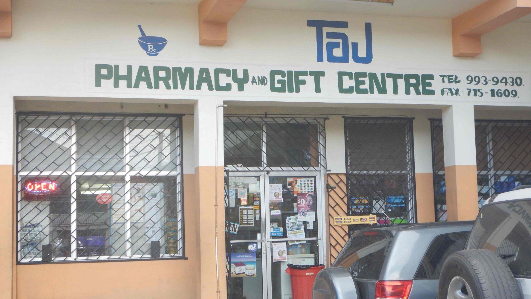 TAJ Pharmacy Port Antonio Portland Jamaica